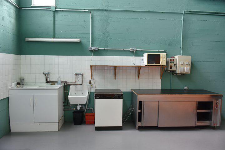 Cuisine de la salle André-Raynoird
