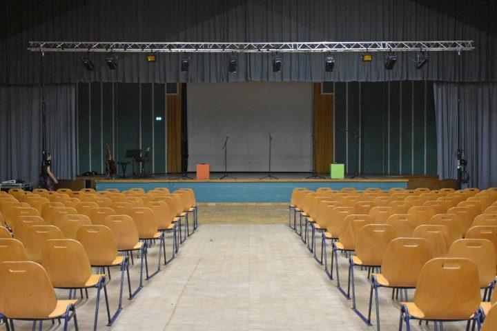 Ssène de la salle André-Raynoird