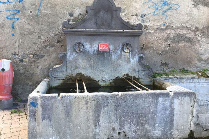 La fontaine de l'Allait
