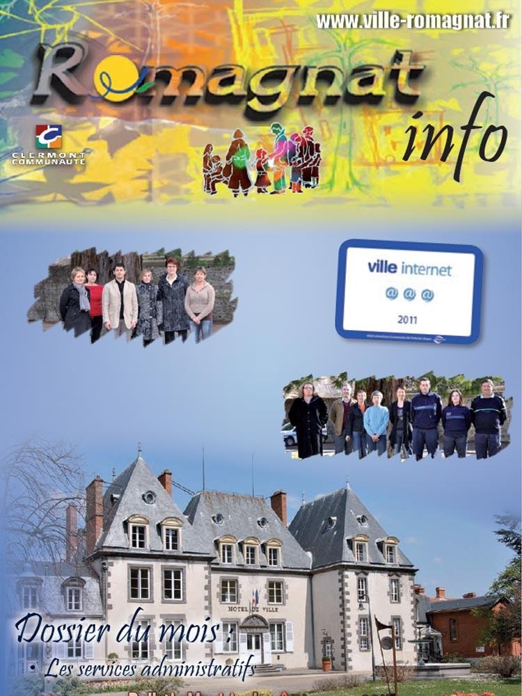 Bulletin municipal n°74 – Mats 2011