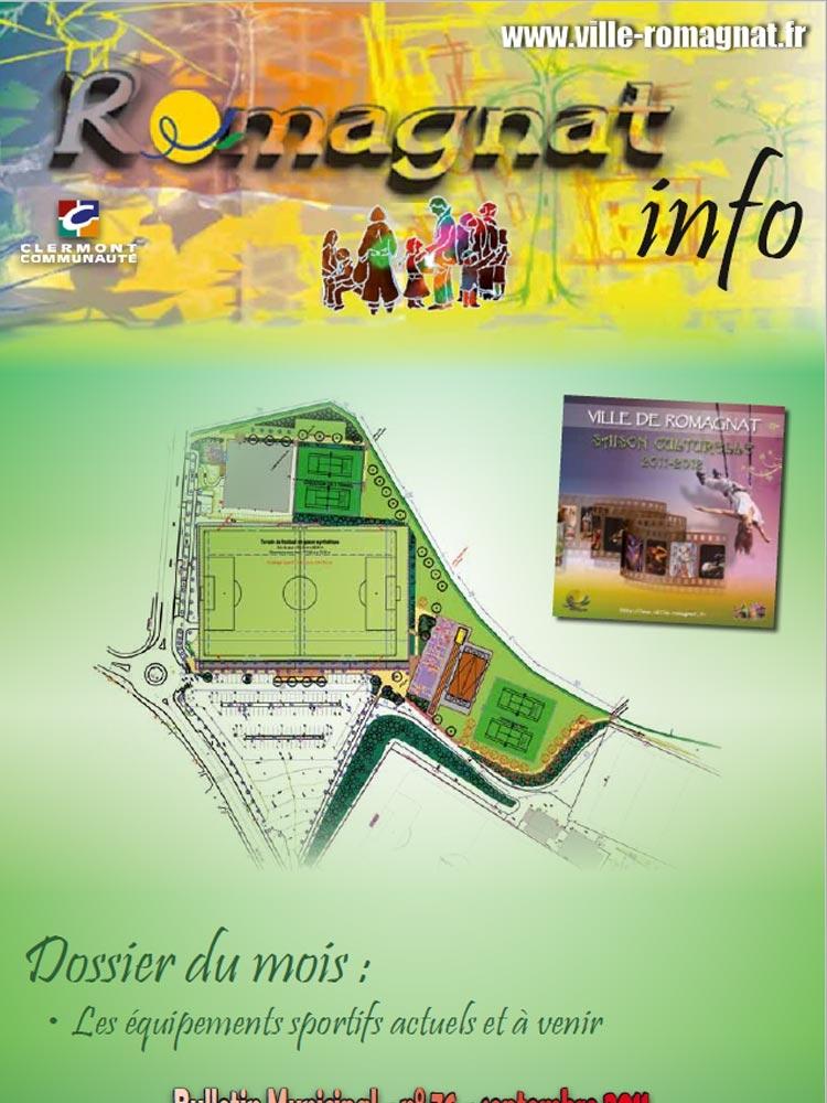 Bulletin municipal n°76 – Septembre 2011