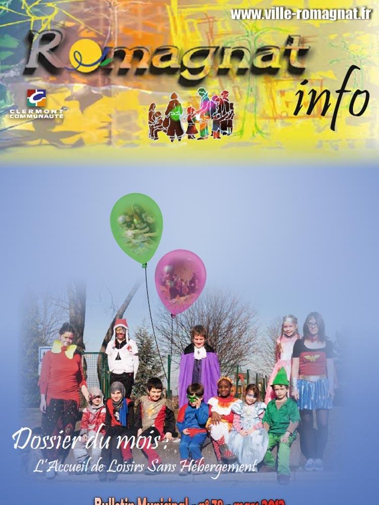 Bulletin municipal n°78 – Mars 2012