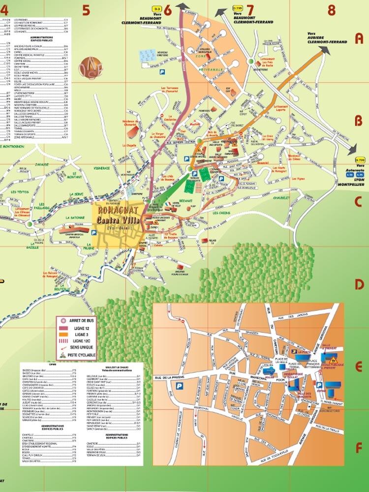 Plan de ville – 2009