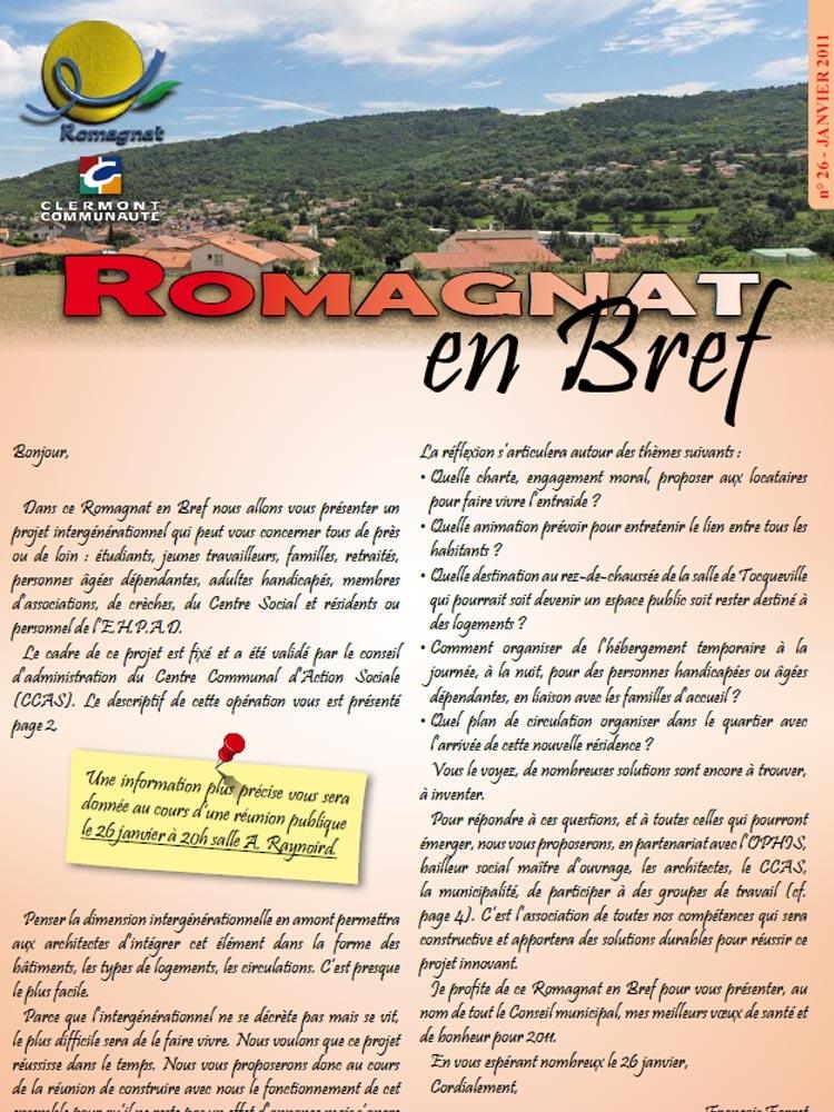 Romagnat en Bref 26