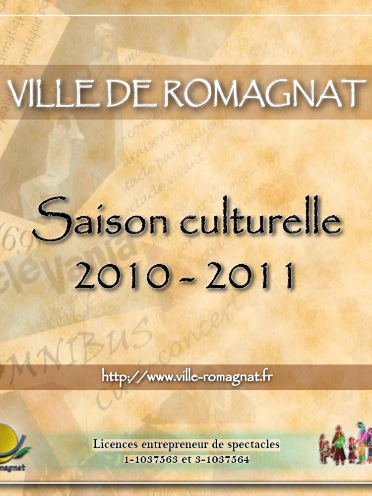 Programmation culturelle – 2010-2011
