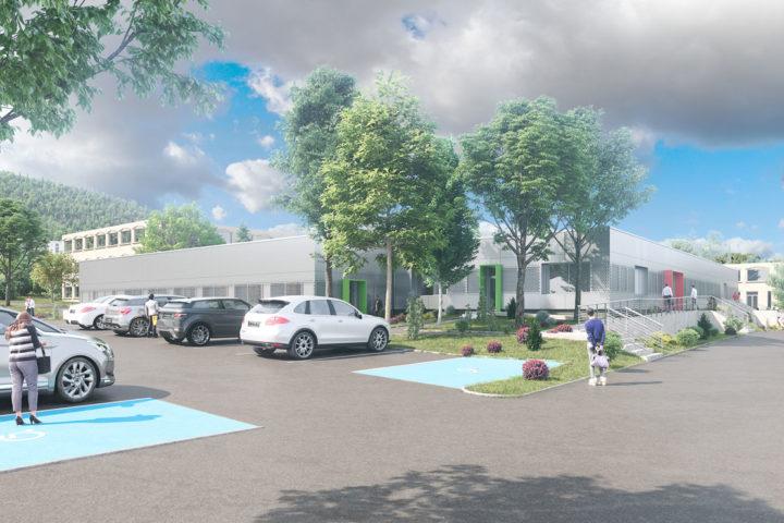 Le projet de bâtiment du FLEP