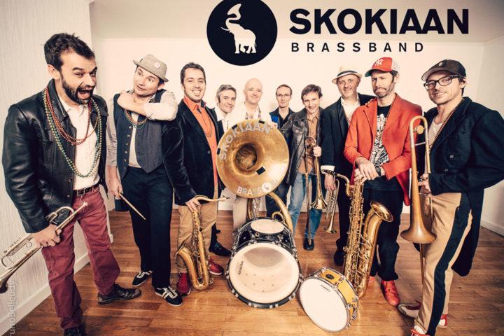 Le Skokiaan Brassband à Romagnat