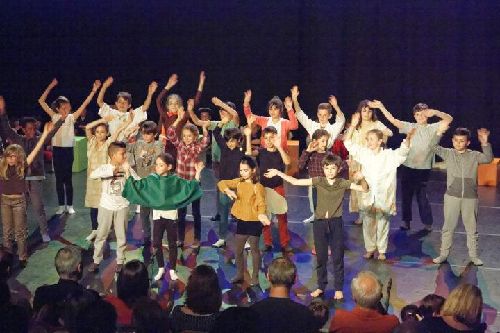Concert des élèves des écoles élémentaires à la salle André-Raynoird