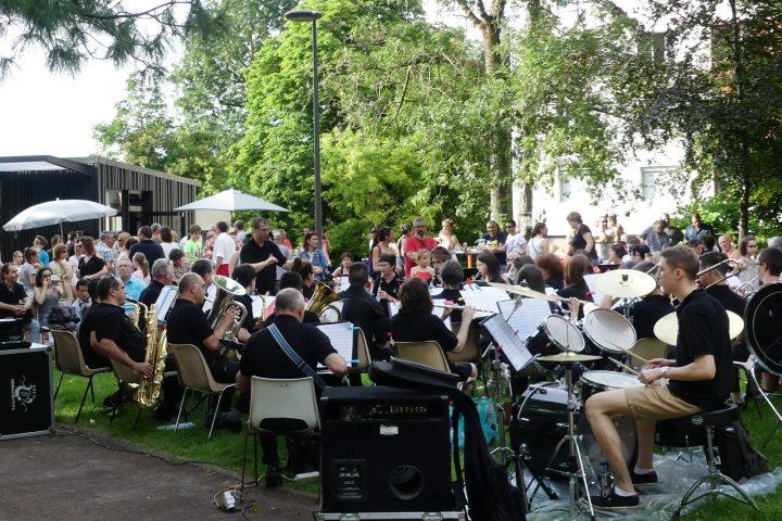 La fête de la musique au parc Bernard-de-Tocqueville