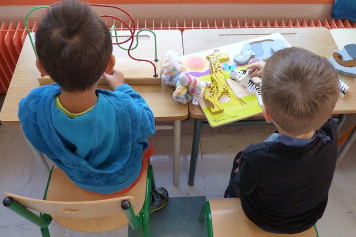 Jour de rentrée à l'école Louise-Michel de Romagnat