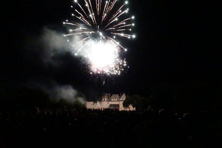 Le feu d'artifice du 13 juillet