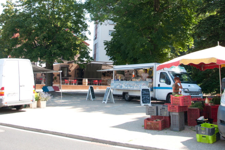 Le marché de Romagnat a lieu le jeudi matin
