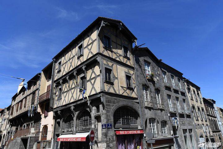 Le quartier médiéval de Montferrand