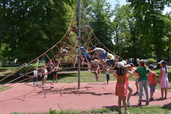 L'araignée au parc Bernard-de-Tocqueville