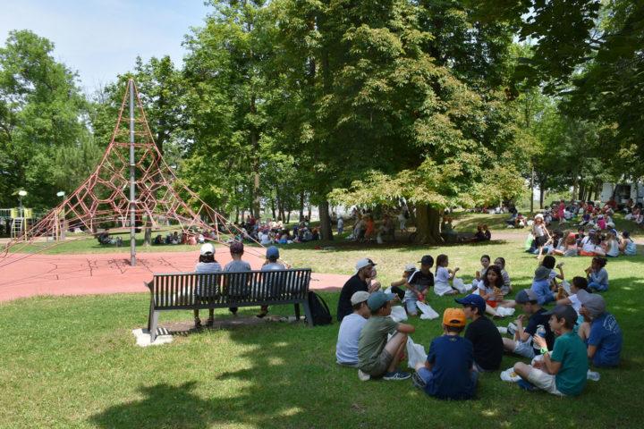 Pique-nique au parc Bernard-de-Tocqueville