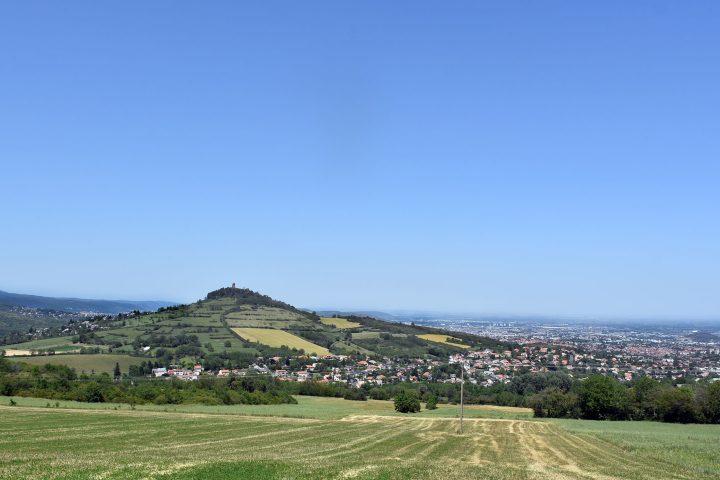 Vue de Clémensat et Romagnat