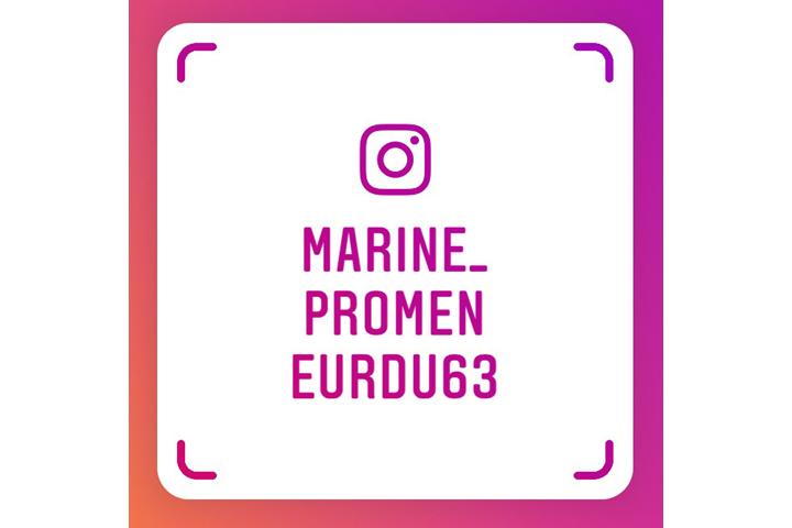 Marine Bourdier, promeneur du Net, est sur Instagram