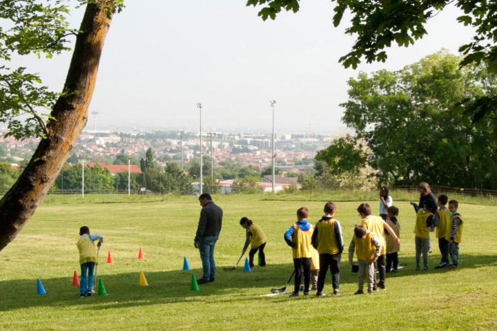 Sport au parc Bernard-de-Tocqueville