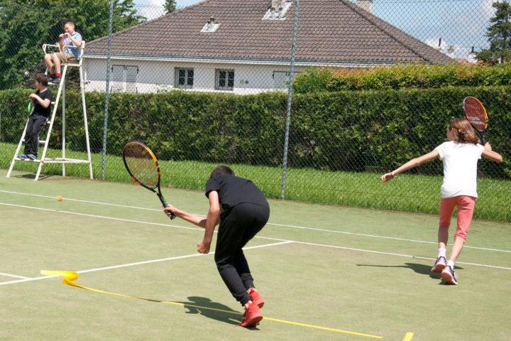 Activité tennis en collaboration avec le RTC