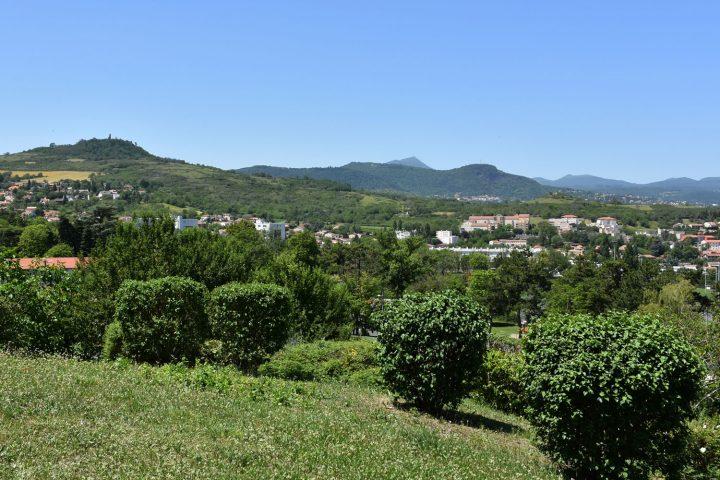 Romagnat et la chaîne des Puys