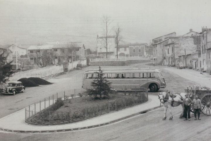 La place François-Mitterrand en 1956