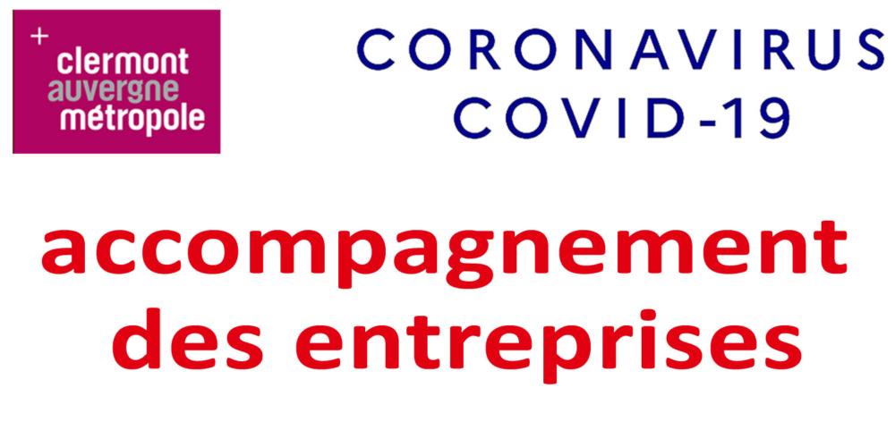 COVID-19 : accompagnement des entreprises