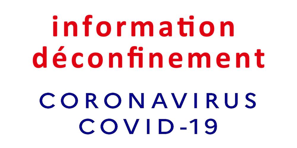 COVID-19 : déconfinement