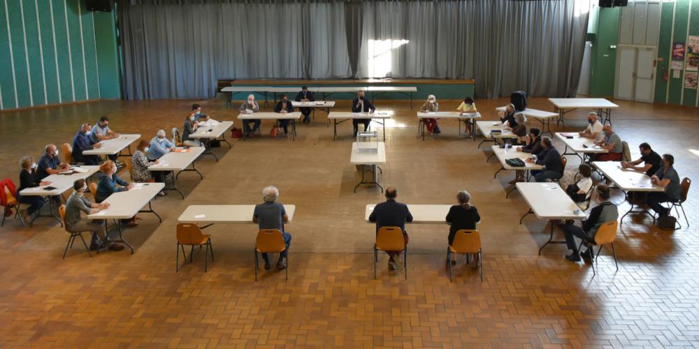 Election du maire de Romagnat