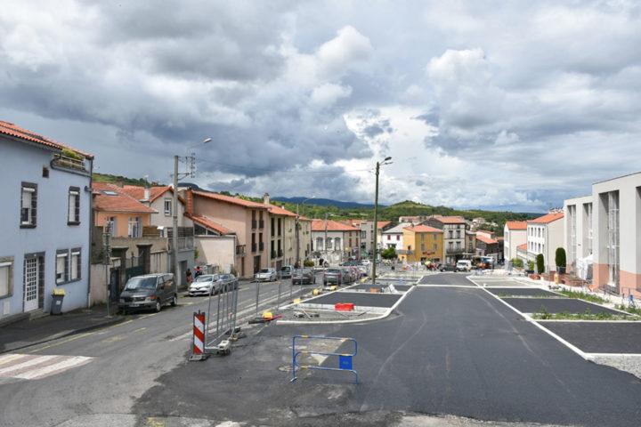 Place Francois Mitterrand - juin 2020