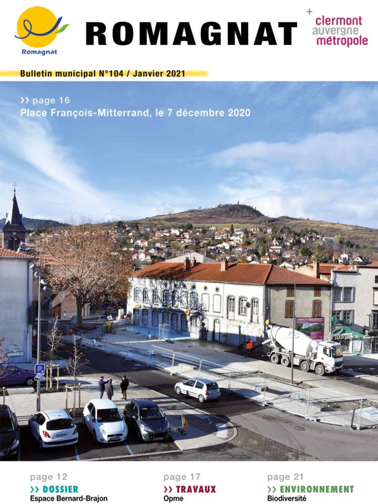 Bulletin municipal n°104 – Janvier 2021